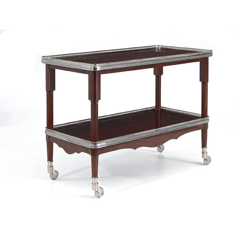 Image of Estate Mahogany One Fifth Drinks Trolley