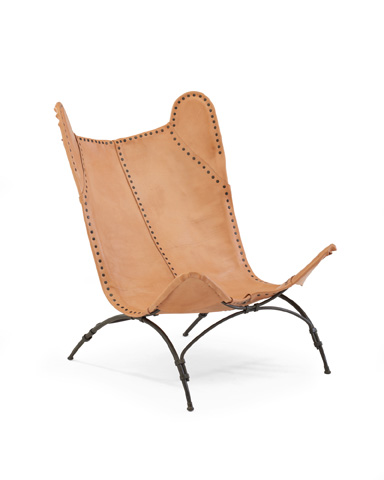 Ralph Lauren by EJ Victor - New Safari Camp Chair in Sunbleached Leather - 056-03S