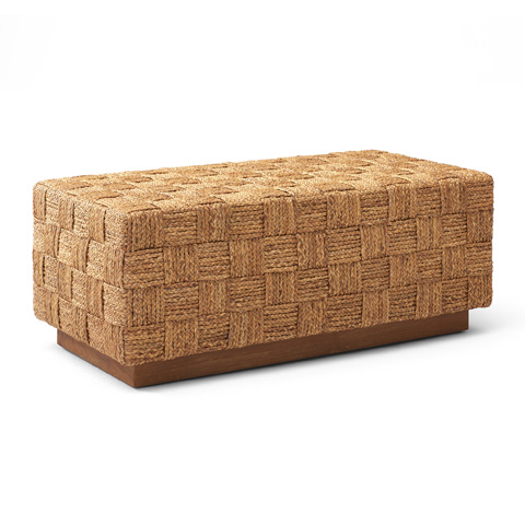 Ralph Lauren by EJ Victor - Modern Hollywood Woven Bed Bench - 245-04