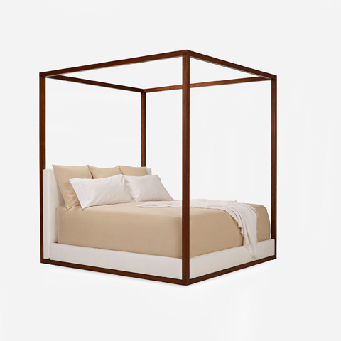 Ralph Lauren by EJ Victor - Desert Modern Canopy Bed - 4100-12