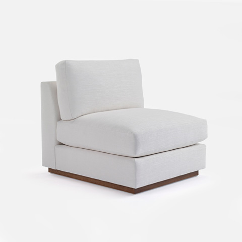 Image of Desert Modern Slipper Chair