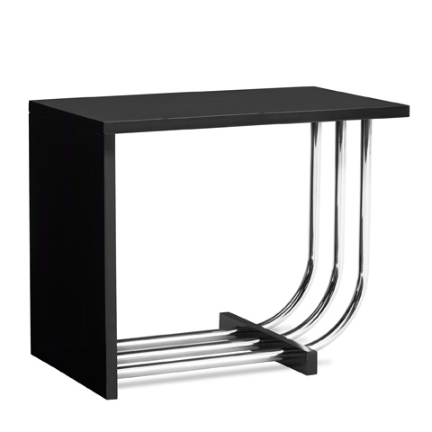Ralph Lauren by EJ Victor - Tubular Steel Bauhaus Accent Table - 35000-41