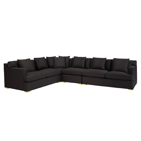 Ralph Lauren by EJ Victor - One Fifth Sectional Sofa - 768-06L