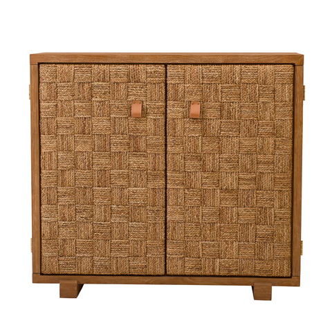 Image of Black Palms Accent Cabinet