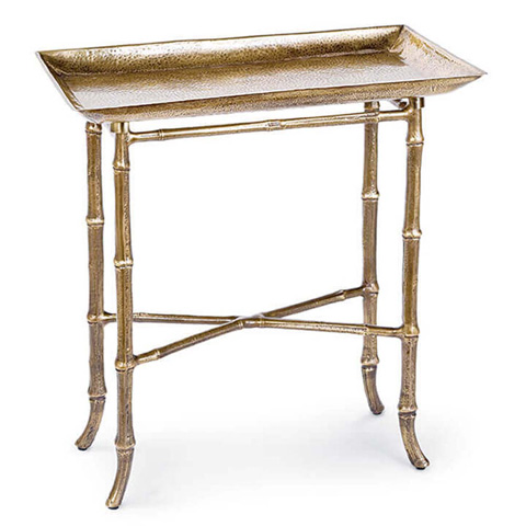 Image of Rectangle Bamboo Tray Table