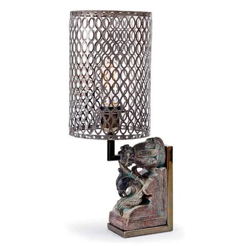 Image of Peacock Artifact Lamp