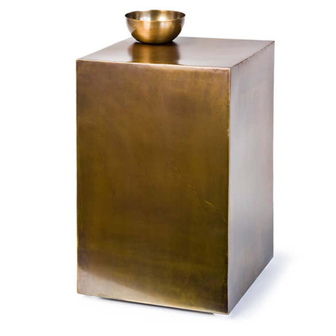 Vintage Brass Club Table 55 7432