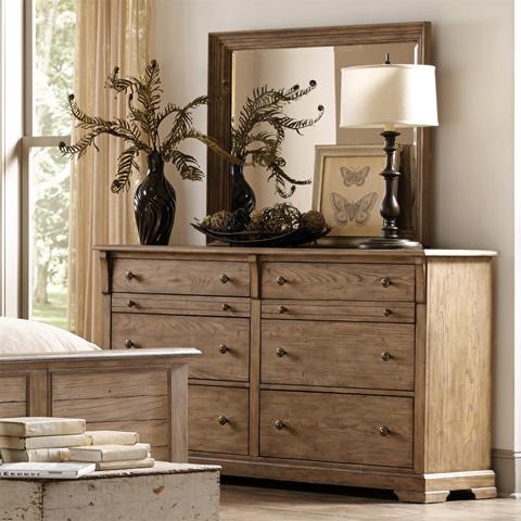Riverside Furniture - Landscape Mirror - 14293