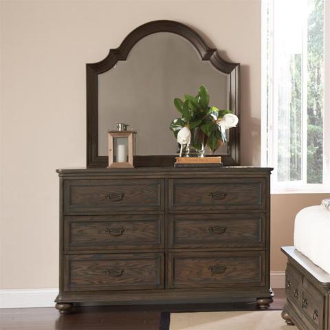 Riverside Furniture - Arch Mirror - 15861