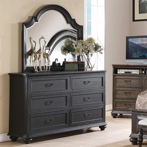 Riverside Furniture - Arch Mirror - 15961