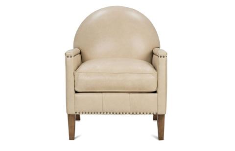 Robin Bruce - Theodore Leather Club Chair - THEODORE-L-006