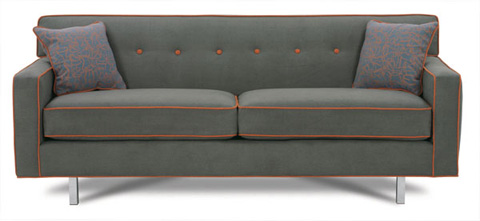 Rowe Furniture - Dorset Chrome Leg Sofa - K520KC-000