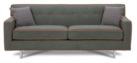 Rowe Furniture - Dorset Chrome Leg Sleeper Sofa - K529QC-000
