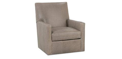 Rowe Furniture - Carlyn Leather Swivel Glider Chair - P230-L-007