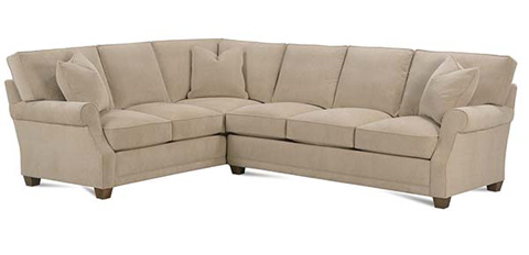 Rowe Furniture - Baker Sectional - P210-116/P210-119