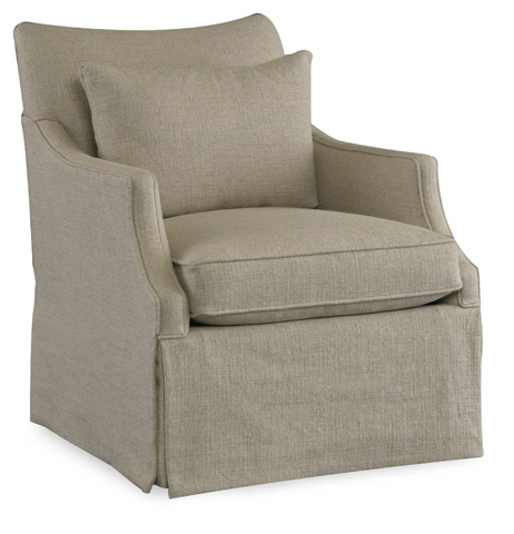 Sam Moore - Azriel Skirted Club Chair - 1867