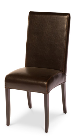 Sarreid Ltd. - Brown Milano Side Chair - 15662
