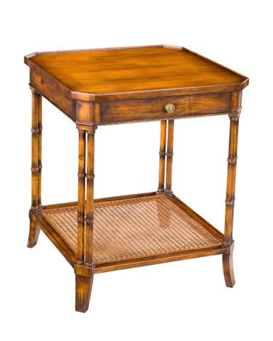 Sarreid Ltd. - Winston Lamp Table With Shelf - 24363