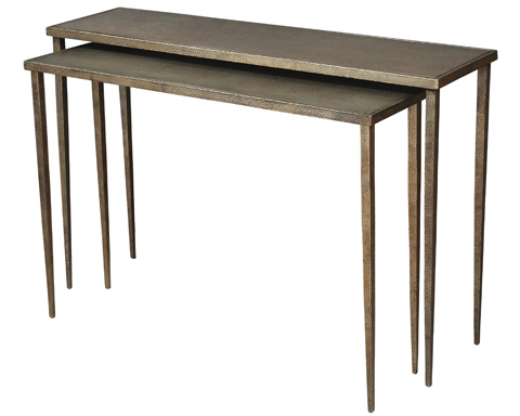 Sarreid Ltd. - Nest Of 2 Console Tables - 26379