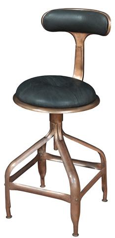 Sarreid Ltd. - Copper Swivel Chair - 26516