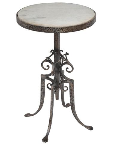 Sarreid Ltd. - Marble Top Wine Table - 26800