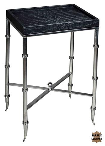 Sarreid Ltd. - Black Croc Martini Table - 27651
