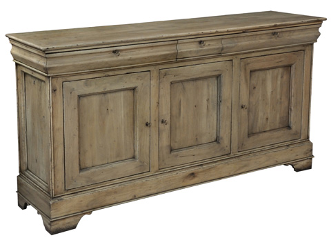 Sarreid Ltd. - Cafe Au Lait Driftwood Buffet - 27857