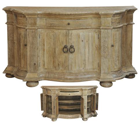 Sarreid Ltd. - King's Ransom Inn Cabinet - 28152
