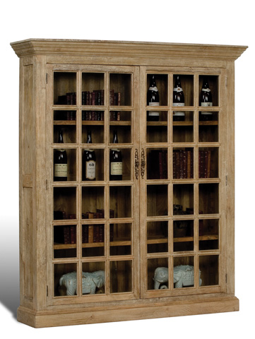 Sarreid Ltd. - Walnut Canyon Bookcase - 28374
