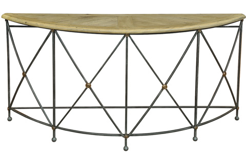 Sarreid Ltd. - Drum & Fife Console Table - 28651