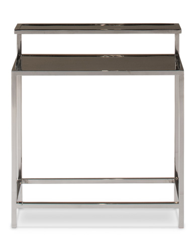 Sarreid Ltd. - Stainless Steel Tier Table - 29046