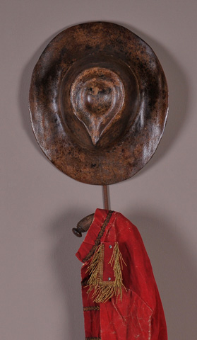 Sarreid Ltd. - Borsalino Hat Shaped Hanger - 29458
