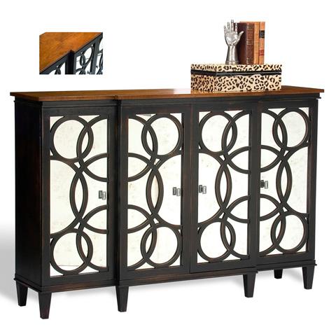 Sarreid Ltd. - Black Craftsman Brown Gabriella Credenza - R066-22T30