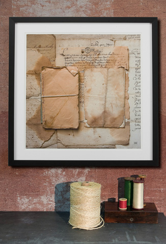 Sarreid Ltd. - Framed Artist Edition Print Square - 28722