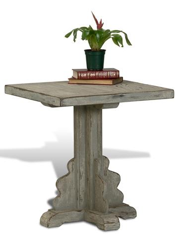 Sarreid Ltd. - Winged Base Side Table - 28794