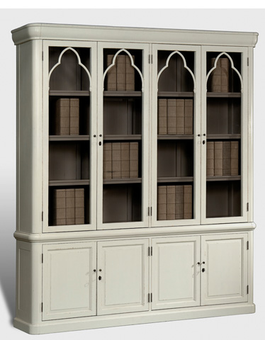 Sarreid Ltd. - Palais Arc Library Cabinet - 28846