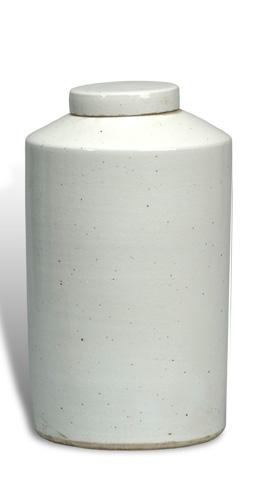Sarreid Ltd. - Phillips Ceramic Canister - 29217