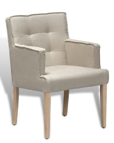 Sarreid Ltd. - Parsons Arm Chair - 29288