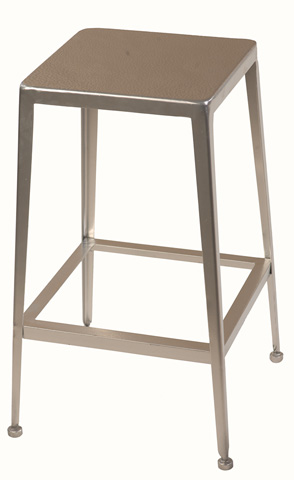 Sarreid Ltd. - Silver Counter Stool - 29314