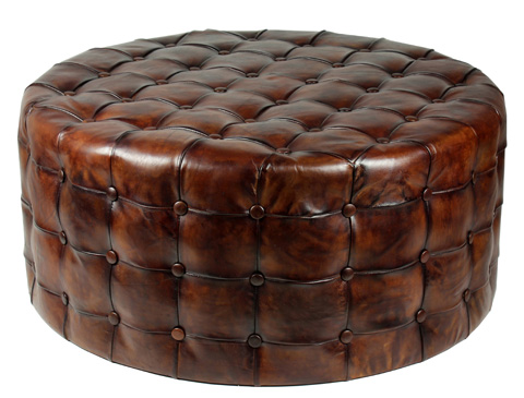 Sarreid Ltd. - Tufted Ottoman - 29549
