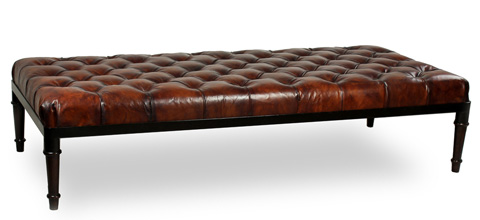 Image of Groupage Leather Bench