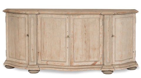 Sarreid Ltd. - Most Narrow Bow Front Cabinet - 29663