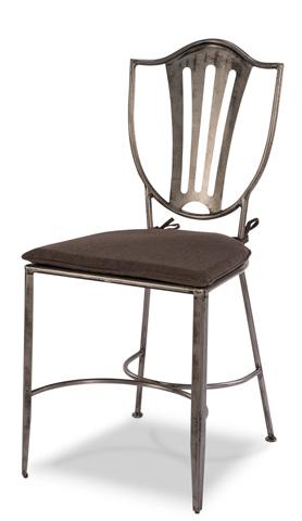 Sarreid Ltd. - Carpenter Shield Chair - 29676