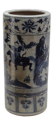 Sarreid Ltd. - Craver Ceramic Umbrella Stand - 29708