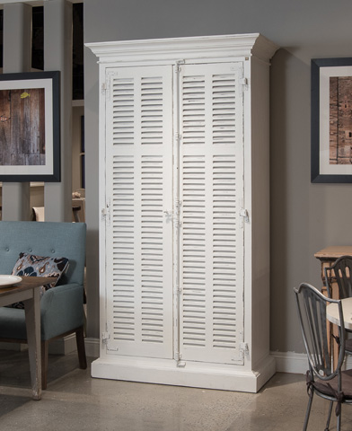 Sarreid Ltd. - Narvik Cabinet White - 29723