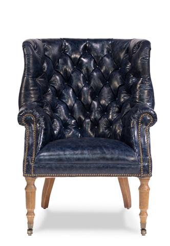 Sarreid Ltd. - Welsh Leather Chair - 29727
