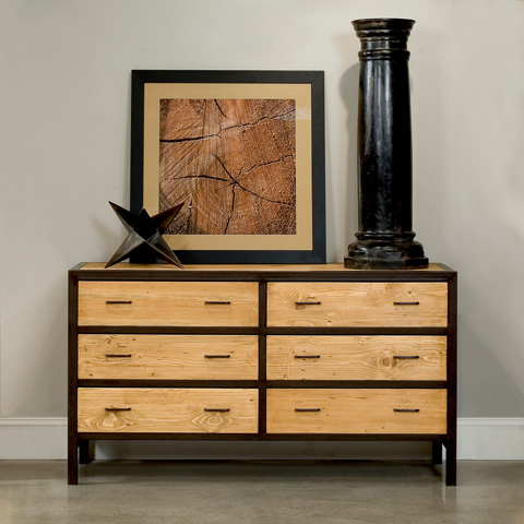 Sarreid Ltd. - Double Loft Chest Of Drawers - 29824