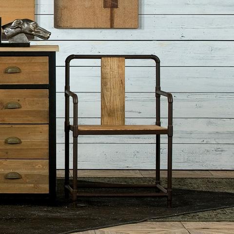 Sarreid Ltd. - Industrial Ming Chair - 29842