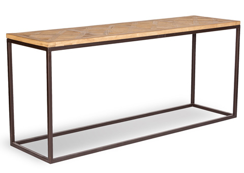 Sarreid Ltd. - Bradbury Parquet Wall Table - 29846