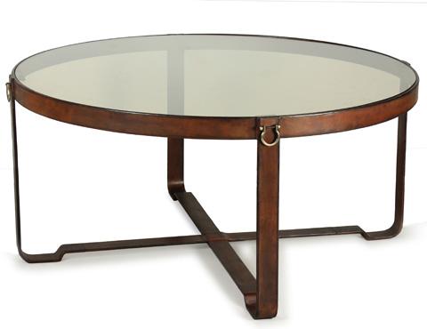 Sarreid Ltd. - Harness Round Coffee Table - 29906